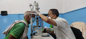 Read more about the article Eye Camp in local level